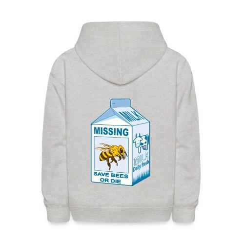 Missing Bees - Kids' Hoodie
