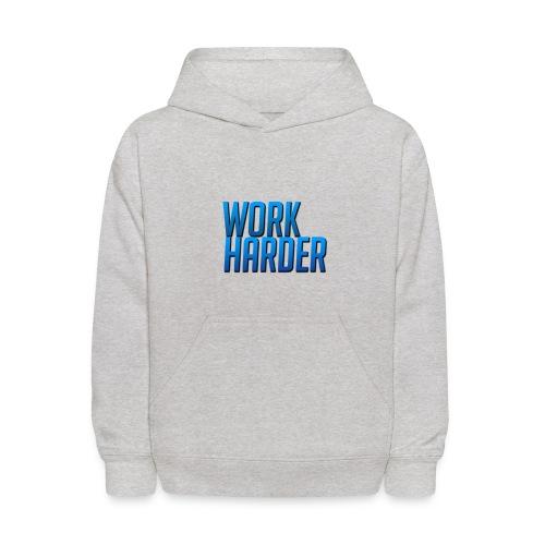 Work Harder - Kids' Hoodie