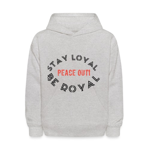 Peace out haters - Kids' Hoodie