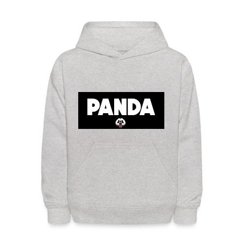 PandaSavageLogo - Kids' Hoodie