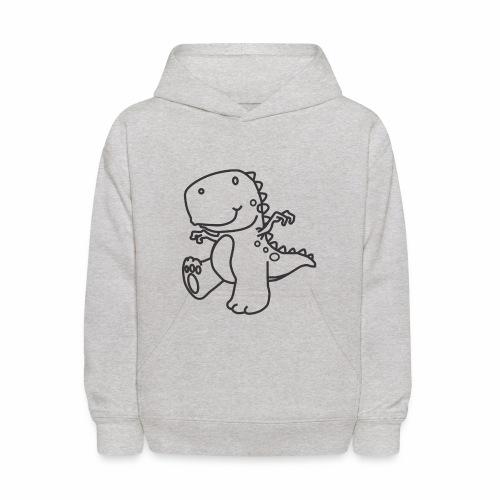 Cute Dinosaur - Kids' Hoodie