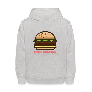 Burger Wednesday! - Kids' Hoodie