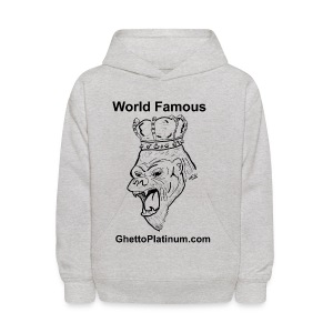 T-shirt-worldfamousForilla2tight - Kids' Hoodie