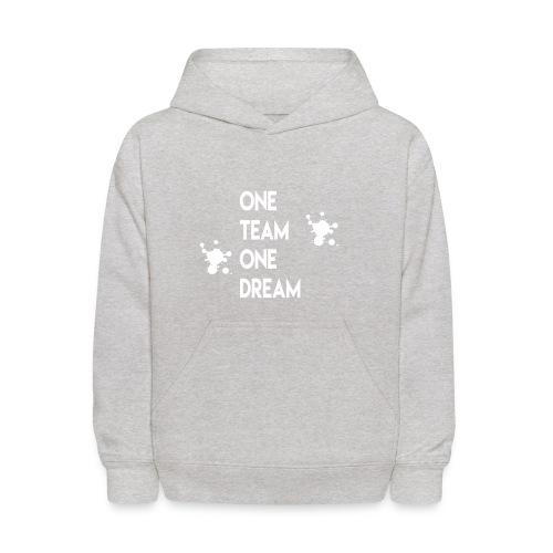 One team One dream - Kids' Hoodie
