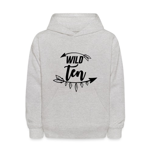 Wild One/10th Birthday Shirt/Outfit - Kids' Hoodie