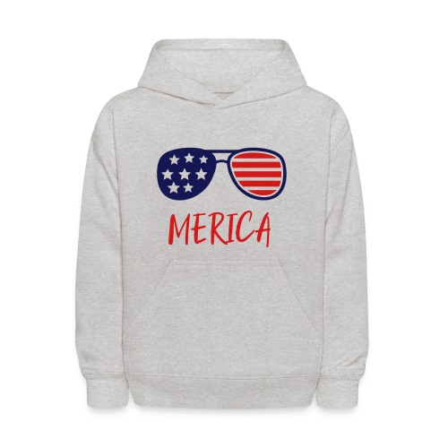 Merica Shirt - USA merica woman shirt -Merica 1255 - Kids' Hoodie