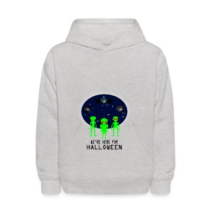 WE'RE HERE FOR HALLOWEEN - Kids' Hoodie
