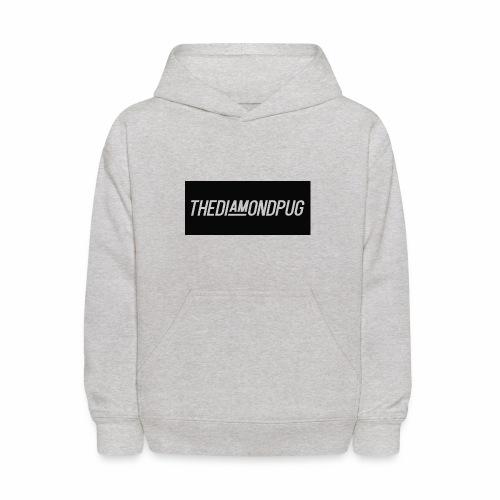 TheDiamondPug Rectangle - Kids' Hoodie