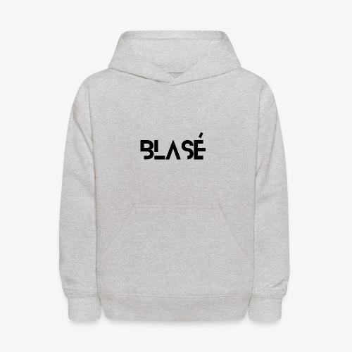 Logo Blase Negro - Kids' Hoodie