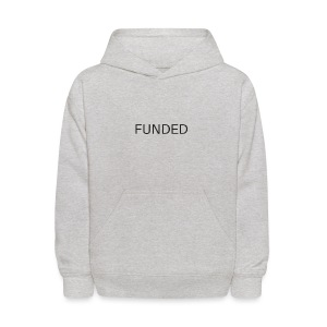 FUNDED Black Lettered T - Kids' Hoodie