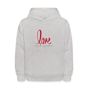 love my husband - Kids' Hoodie
