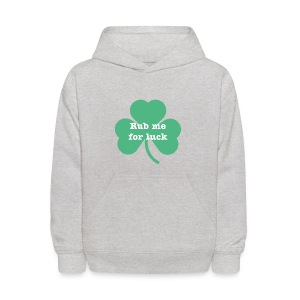 Rub me for luck - Kids' Hoodie