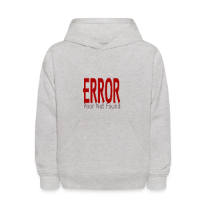 Oops There Is Something Missing! - Kids' Hoodie