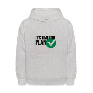 Time for Plan V(ertcoin) - Kids' Hoodie