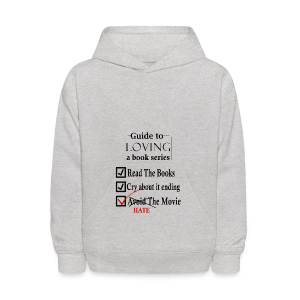 Guide To Loving A Book Series (Black) - Kids' Hoodie