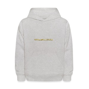 TROLLIEUNICORN gold text limited edition - Kids' Hoodie