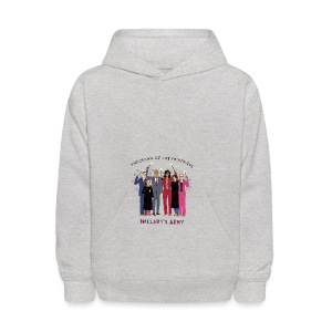 The Order of the Pantsuits: Hillary's Army - Kids' Hoodie