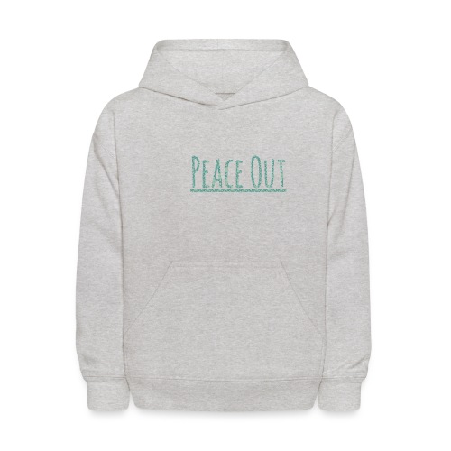 Peace Out Merchindise - Kids' Hoodie