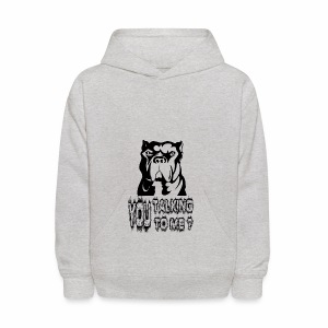 YOU TALKING TO ME ? - Kids' Hoodie