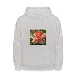 Pink and white rose seeds mixed rare flower - Kids' Hoodie