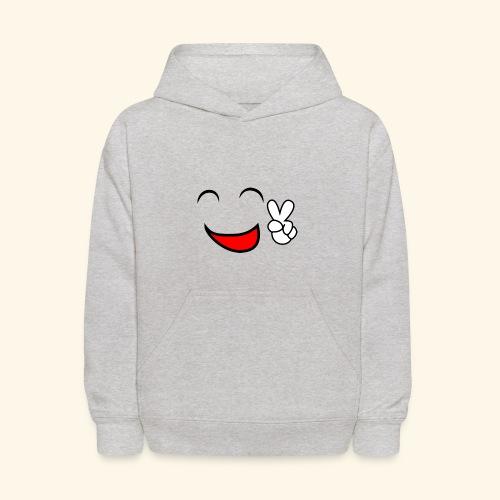 Comic smile - Kids' Hoodie