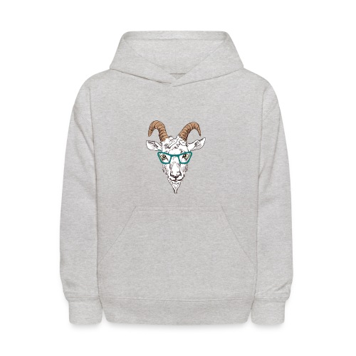 Goat Nerd - For that Goatee Lovin Kid - Kids' Hoodie