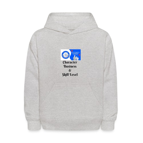 Character, Business & Skill Level - Kids' Hoodie
