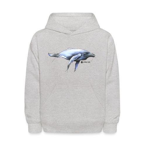 Humpback whale - Kids' Hoodie