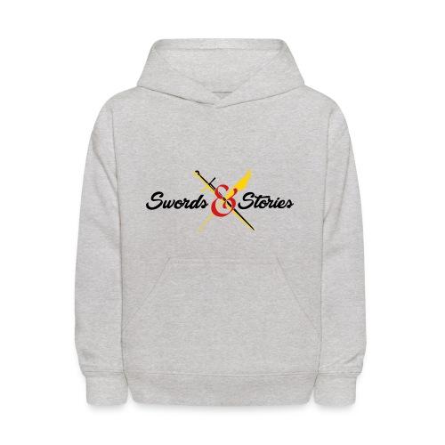 Swords and Stories Logo - Kids' Hoodie