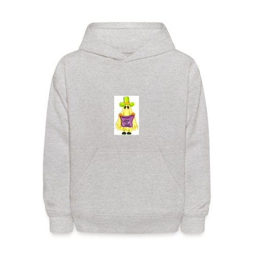Little ghost going trick or treating - Kids' Hoodie