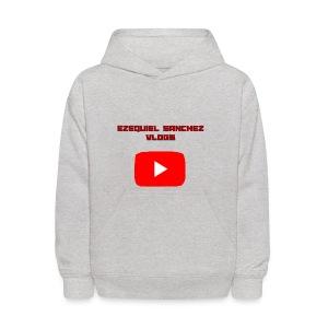 Ezequiel Sanchez Vlogs - Kids' Hoodie