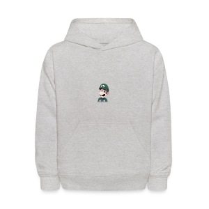 Luigi from (Mario)The Music Box By Team Ari - Kids' Hoodie