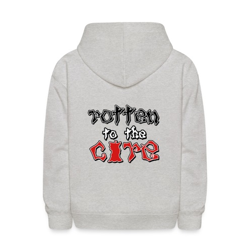 Rotten To The Core - Kids' Hoodie