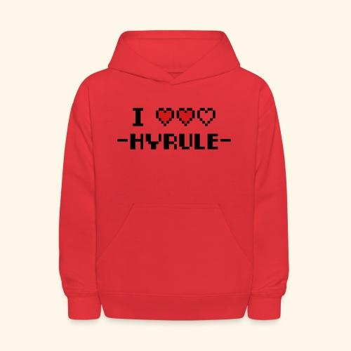 I Love Hyrule - Kids' Hoodie