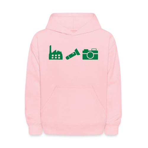DCUE_Icons_Small - Kids' Hoodie