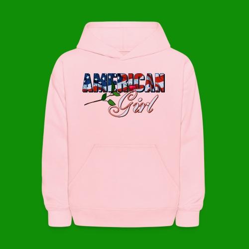 AMERICAN GIRL - Kids' Hoodie