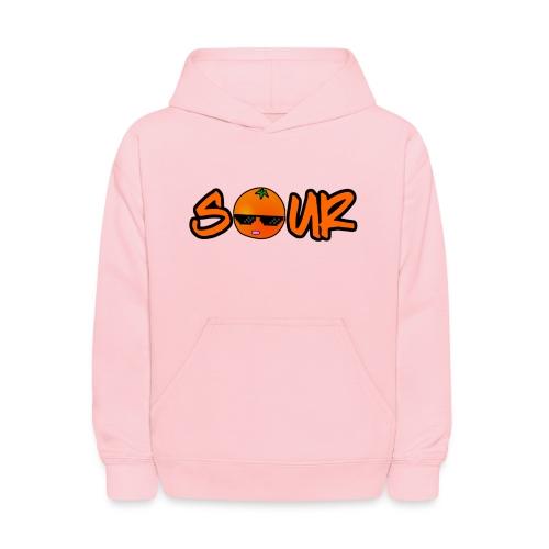 Orange Sour Word - Kids' Hoodie