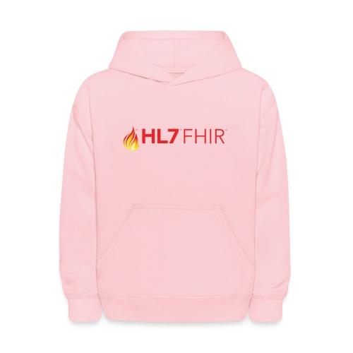 HL7 FHIR Logo - Kids' Hoodie