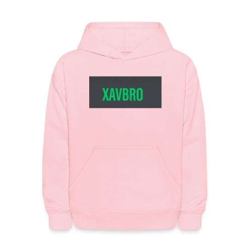 xavbro green logo - Kids' Hoodie