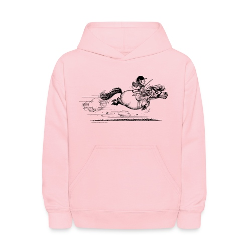 PonySprint Thelwell Cartoon - Kids' Hoodie