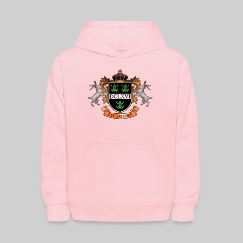 Satanic Heraldry - Coat of Arms - Kids' Hoodie