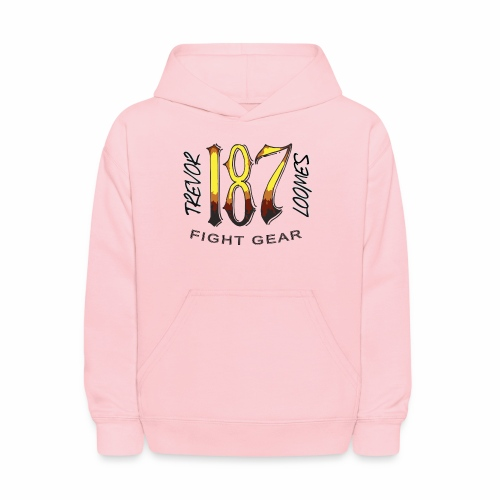 Coloured Trevor Loomes 187 Fight Gear Logo - Kids' Hoodie