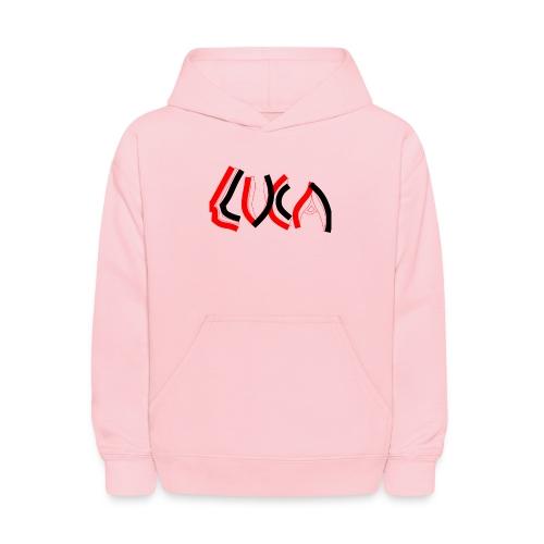 Contrast Luca Logo - Kids' Hoodie