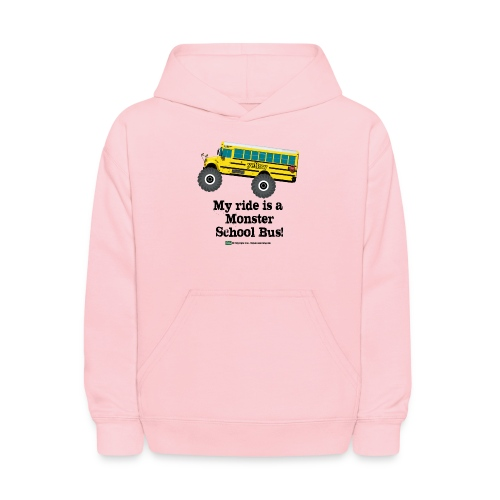 Monster Schoolbus Spreadshirt 3 png - Kids' Hoodie