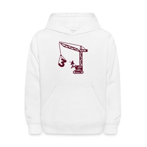 Robot Crane - Kids' Hoodie