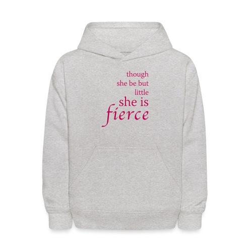 She Is Fierce - Kids' Hoodie