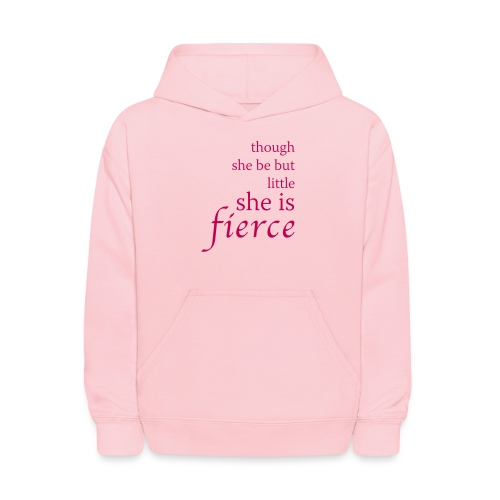 She Is Fierce - Kids' Hoodie