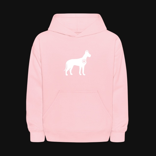 Great Dane love - Kids' Hoodie