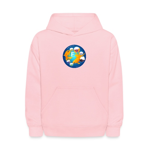 The Babyccinos The Letter F - Kids' Hoodie
