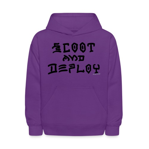 Scoot and Deploy - Kids' Hoodie